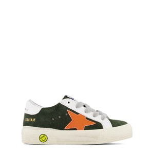 Image of Golden Goose Black Suede May Trainers 24 (UK 7) (1748659)