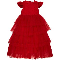 Sonia Rykiel Tulle Dress Red