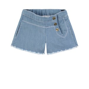 Image of Chloé Denim Short Blåt 6 år (1778213)