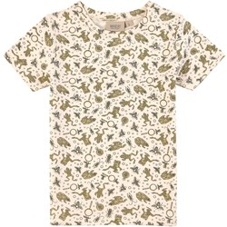 Wheat T-Shirt Wagner Ss Eggshell Frogs