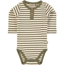 Wheat Striped Baby Body Green