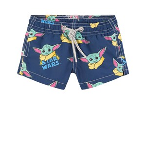 Image of MC2 Saint Barth Navy Yoda Child Swim Shorts 10 år (1860854)
