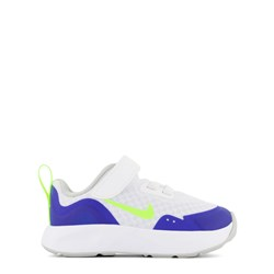 NIKE White, Blue and Green Nike Wear All Day Infant Trainers