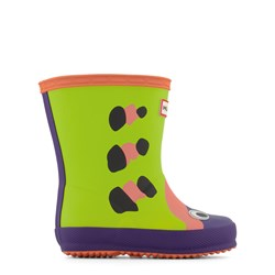Hunter Green Beetle First Wellies
