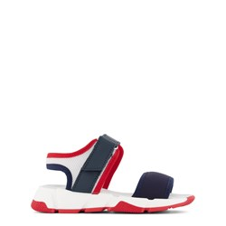 Jacadi Navy, Red and White Sandals