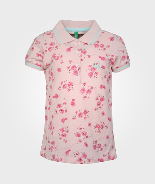 United Colors of Benetton H/S Polo Shirt Pink Pink