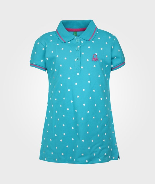 United Colors of Benetton H/S Polo Shirt Blue Blue