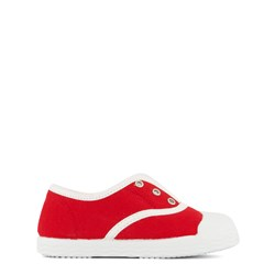 Jacadi Red and White Trainers