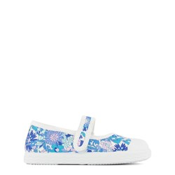 Jacadi Liberty Floral Shoes Blue