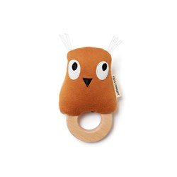 Kid's Concept Edvin Owl Rattle Brown