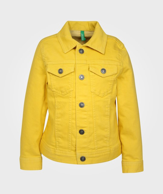 United Colors of Benetton Jacket Yellow Yellow
