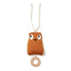 Kid's Concept Edvin Owl Musical Toy Brown
