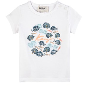 Image of Kenzo Under The Sea T-shirt Hvid 6 mdr (1891416)