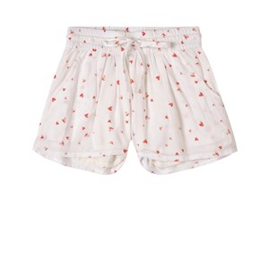 Image of How To Kiss A Frog Heart Print Kylie Shorts Hvide 4 år (1747429)