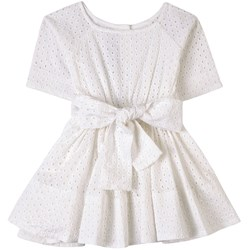 How To Kiss A Frog Bow Detail Siona Dress White