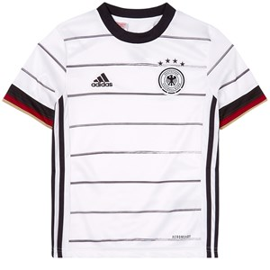 Image of Germany National Football Team Germany 2021 EURO Cup Home Fodboldtrøje Hvid 11-12 years (152 cm) (1939430)