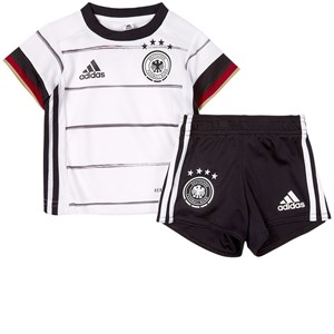 Image of Germany National Football Team Germany 2021 EURO Cup Home Fodbold Sæt Hvid 12-18 months (86 cm) (1939427)
