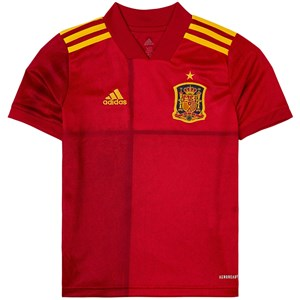 Image of Spain National Football Team Spain 2021 EURO Cup Home Top 11-12 years (152 cm) (1939376)
