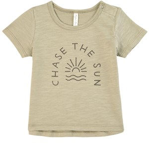 Image of Rylee + Cru Chase The Sun T-shirt Sage 12-18 mdr (1804072)
