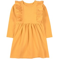 A Happy Brand Ruffle Detail Dress Yellow