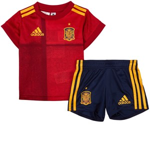 Image of Spain National Football Team Spain 2021 EURO Cup Infants Home Kit 12-18 months (86 cm) (1939392)