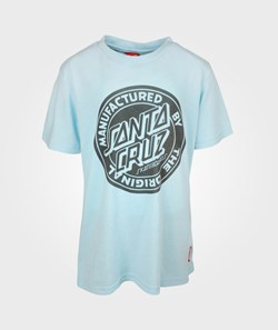 santacruz MFG Youth Tee Sky Blue