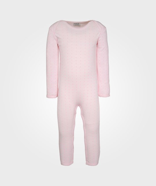 Wheat Jumper Slim Frill Baby Pink Pink