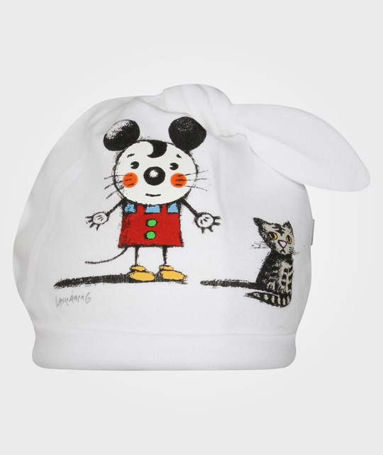 Lasse Åberg Collection  Mouse w. Cat Hat White White
