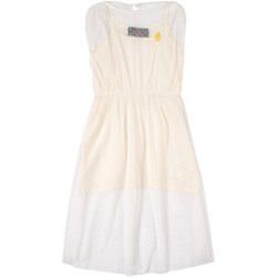 The Animals Observatory Tulle Marten Dress Raw White