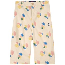 The Animals Observatory Camel Kids Pants White Strokes