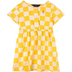 The Animals Observatory Dolphin Kids Dress White Squares