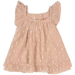 How To Kiss A Frog Rami Baby Dress Beige Dot
