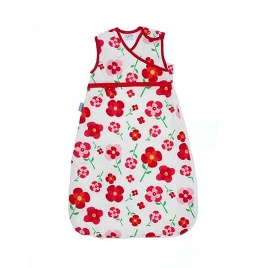Grobag Pretty Petals Tog 2.6 Red