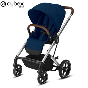 Image of Cybex Balios S Lux Klapvogn Navy/Sølv One Size (1578628)
