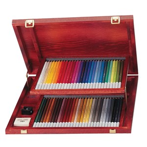 Image of STABILO Carbothello Pastel Pencil Set 60-pack Wooden Box 8+ years (1779985)