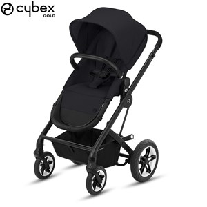 Image of Cybex Talos S 2-in-1 BLK B Klapvogn Deep Black One Size (1578667)