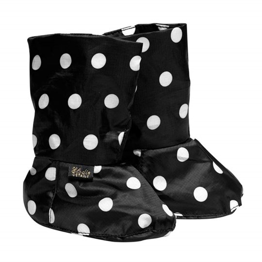 Elodie Details Soft Boots Rockabilly Dot Black