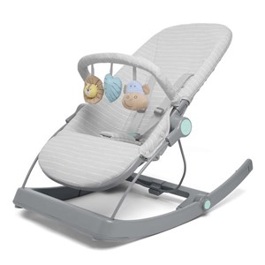Image of Aden + Anais 3-in-1 Stribet Bouncer Grå one size (1877901)