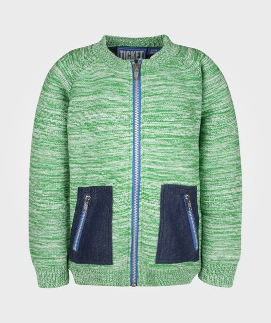 Ticket to Heaven Pascal Cardigan Fern Green
