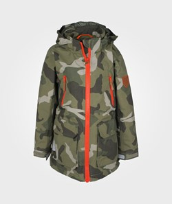 Ticket to Heaven Nigel Coat Army Camouflage