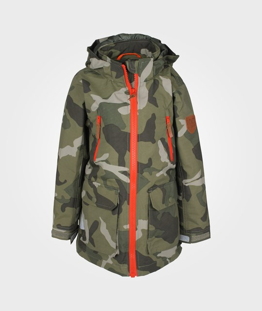 Ticket to Heaven Nigel Coat Army Camouflage Green