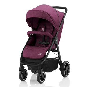 Image of Britax B-Agile M Klapvogn Cherry Wine one size (1590187)