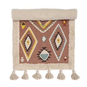 Image of Bloomingville Cotton Rug Multi-Color 120 x 65 cm One Size (1472330)