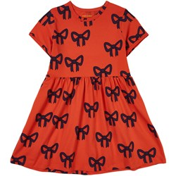 Mini Rodini Bow Dress Red