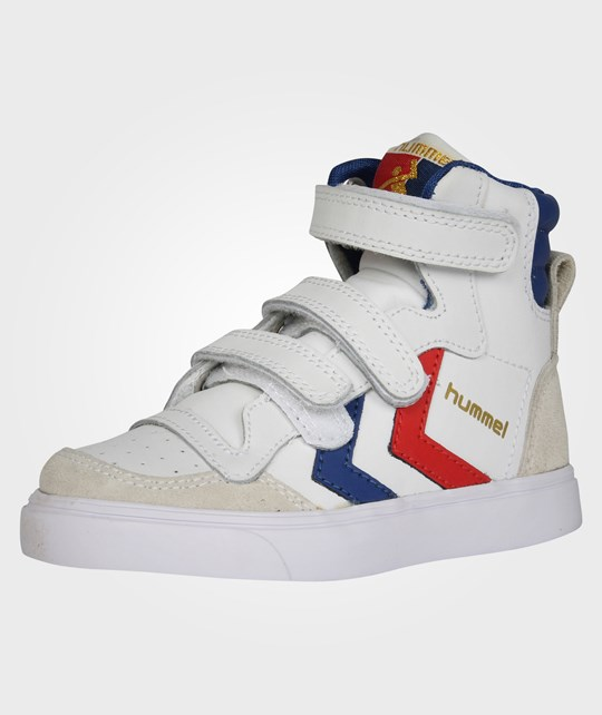 Hummel Hummel Stadil JR Leather High White