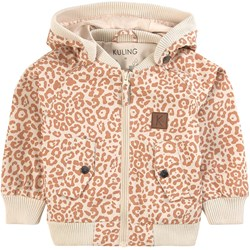 Kuling Bilbao Shell Jacket Cookie Leopard