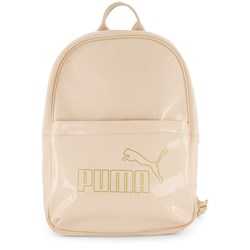 Puma Logo Backpack Beige