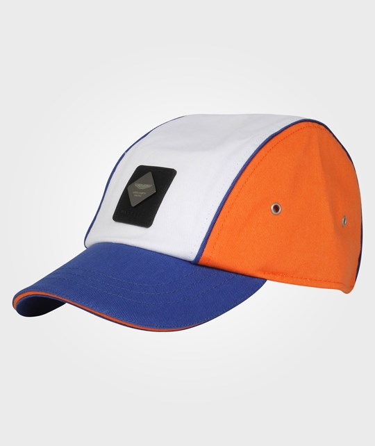 Hackett AMR Boys Cap Orange/Blue Multi