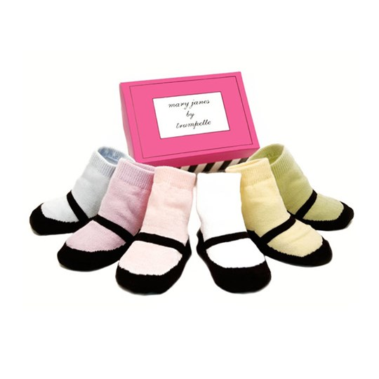 Trumpette Mary Janes Pastel Toddler Multi