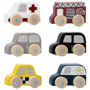 Image of Bloomingville 6-Pack Toy Cars 24+ months (1651684)